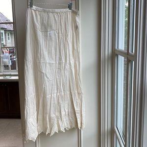 NWT - Gudrun Sjoden Ruffle Skirt